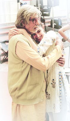 Deepika Padukone and Amitabh Bachchan...peeku