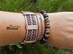 Men copper cuff braceletCopper Men BraceletMen accessories