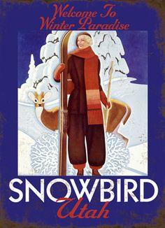 Winter Paradise - Snowbird Utah