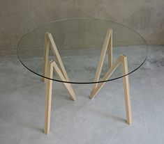 makers with agendas focus on flexibility with accordion table + stilt shelf