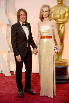 Pin for Later: Cette Année, les Oscars Etaient une Affaire de Couples Keith Urban et Nicole Kidman