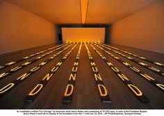 Jenny Holzer    tickertape / lighting / art / installation