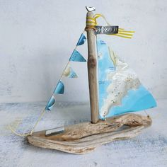 "Marina Loves Paper Boats on Instagram: ""Το δώρο  του ταξιδιάρη  νονού !  . . #driftwood #driftwoodart #driftwoodboat #giftidea #madeingreece #terrainmaps #handmade"" Thessaloniki, Instagram, Home Decor, Interior Design, Home Interior Design, Home Decoration, Decoration Home, Interior Decorating"