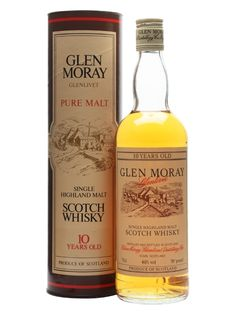 Glen Moray 10 Year Old / Bot.1970s Scotch Whisky : The Whisky Exchange