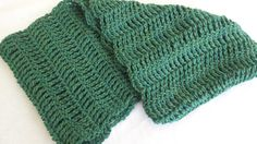Infinity Cowl Crocheted Scarf Deep Aqua Peruvian by softtotouch, $27.00