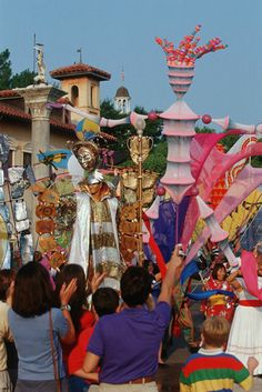 Tapestry of Nations Parade, for Epcot's Millennium Celebration in 2000.