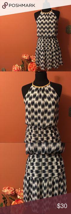 Spotted while shopping on Poshmark: THML Blue Paint Strokes Sleeveless Dress! #poshmark #fashion #shopping #style #THML #Dresses & Skirts