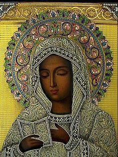Our Lady Is God.Russian Icons | Mother of God of Kaluga Icon |