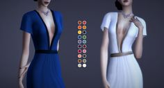 Runway Anthology | Gown | by Magnolianfarewell via Tumblr | Sims 4 I TS4 I Maxis Match I MM I CC