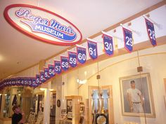 The Roger Maris Museum in Fargo, North Dakota.