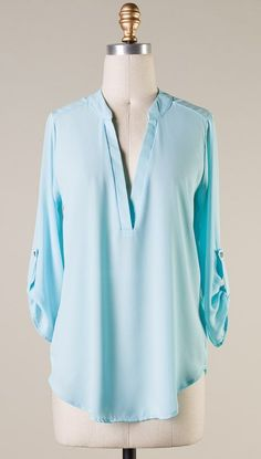 Collin Shirt in Pale Blue