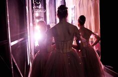 backstage - I believe these are PNB Nutcracker Suite Wedding flower angels ...