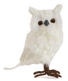 K&K Interiors 9 Feather Owl Décor | zulily