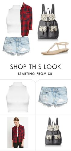 """Casual day"" by charomg ❤ liked on Polyvore featuring WearAll, H&M, Forever 21, T-shirt & Jeans and Dorothy Perkins"