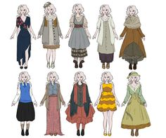 Luna Lovegood Outfits by FruitConflate.deviantart.com on @DeviantArt                                                                                                                                                                                 More