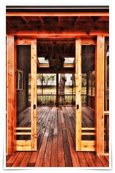 Best Screened in Porch Design Ideas for Cozy and Relaxing Space - Porch Decorating Home Design Decor, Home Interior Design, Home Decor, Design Ideas, Design Design, Design Shop, Door Design, Style Artisanal, Bungalow