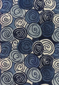 Sonia Delaunay fabric - probably during the Great pattern. Sonia Delaunay fabric - probably during the Great pattern. Motifs Textiles, Textile Patterns, Textile Prints, Textile Art, Lino Prints, Block Prints, Sonia Delaunay, Robert Delaunay, Surface Pattern Design