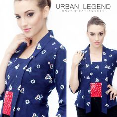 Urban Legend New modern kebaya Indonesia For order WA 081514700777 www.batikqueen.con