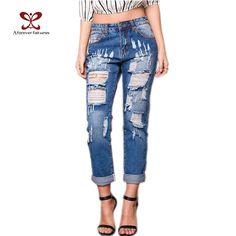 <b>Free shipping</b> 2017 <b>fashion</b> sexy pencil pants slim fit jeans woman ...