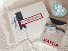 album e card ricordo cresima