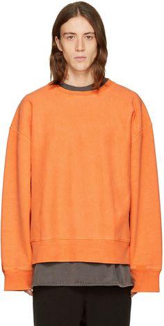 YEEZY Season 3 - Orange Crewneck Sweatshirt