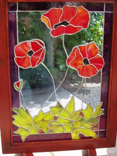 Stained Glass Paint, Stained Glass Flowers, Stained Glass Designs, Stained Glass Panels, Stained Glass Projects, Stained Glass Patterns, Mosaic Art, Mosaic Glass, Fused Glass
