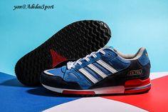 best sneakers b426b 5bef6 Zapatillas Running Adidas Originals ZX 750 para Hombre Azul Marino Blanco  Rojo Baratas Online
