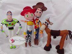 Toy Story em feltro