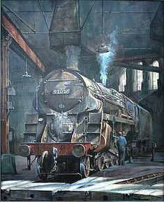 on Saltley shed by Mike Jeffries Transport Pictures, Uk Rail, Steam Art, Underwater Animals, Steam Railway, Train Art, Railway Posters, Railway Museum, Train Pictures