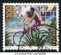 timbre suisse vélo
