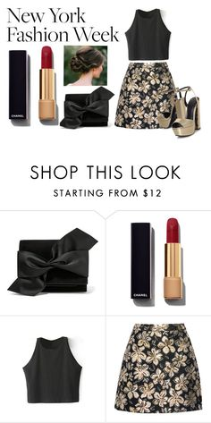 """""""Sin título #537"""" by lululafitte on Polyvore featuring moda, Victoria Beckham, Chanel, Alice + Olivia, KG Kurt Geiger, women's clothing, women, female, woman y misses"""