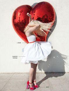 oh my mirrored heart