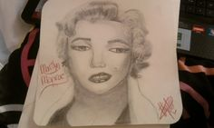 Marilyn Monroe Drawing by ~XxJakeTAustinLuverxX on deviantART