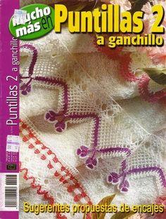 La Magia del Crochet: REVISTA DE PUNTILLAS A CROCHET