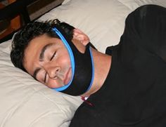 Chin strap for snoring