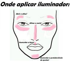 Truque de maquiagem: aplicar iluminador