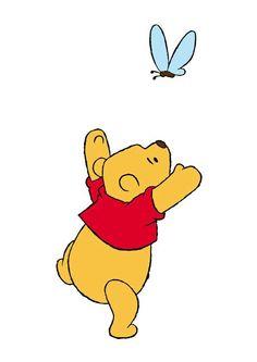 Winnie The Pooh Cartoon, Cute Winnie The Pooh, Disney Castle Drawing, Winie The Pooh, Disney Paintings, Disney Phone Wallpaper, Cute Backgrounds, Pooh Bear, Cute Little Things