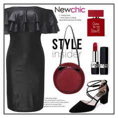 """""""NEWCHIC"""" by elly-852 ❤ liked on Polyvore featuring Bella Freud and Christian Dior"""