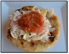 Recipe for homemade, Salvadorian pupusas