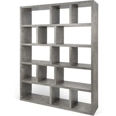 TemaHome Berlin 5 Level Bookcase 150 Cm | Concrete