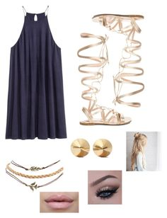 """Dreamland"" by brooklynb39 ❤ liked on Polyvore featuring H&M, Gianvito Rossi, Wet Seal and Eddie Borgo"