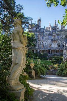 Promenade of the Gods - Quinta da Regaleira 1800 - Sintra, Portugal