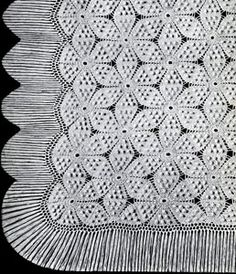 NEW! Swedish Popcorn Bedspread crochet pattern from Heirloom Spreads, Volume 49.