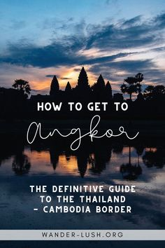 Looking for a safe and convenient way to get from Bangkok to Angkor Wat? This step-by-step guide to the Bangkok to Siem Reap bus shows you everything you need to know for a smooth trip – from buying tickets, to visas and immigration. #Bangkok #Thailand #Cambodia #SiemReap #SoutheastAsia