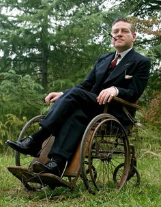 Actor Kevin Branagh Played Franklin Delano Roosevelt in a Wheelchair