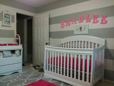 View of nursery from the glider chair Glider Chair, Gliders, Cribs, Nursery, Bed, Furniture, Home Decor, Room Ideas, Cots