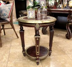 "Great new artifact accent table  19.5""w x 24""h  Just $399.00"