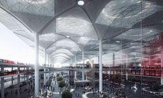 Novos detalhes do maior aeroporto do mundo em Istambul