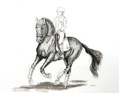 MZ - horse art: Galop III