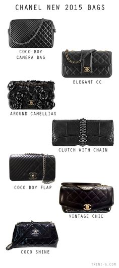 Trini blog | Chanel 2015 New bags